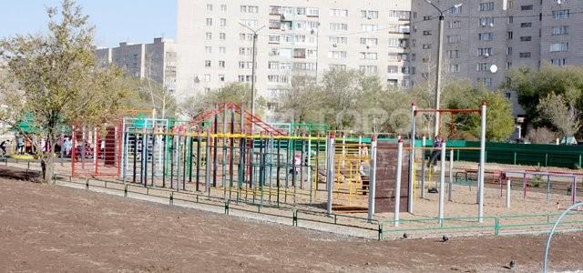 5-9, спортплощадка - Степногорск