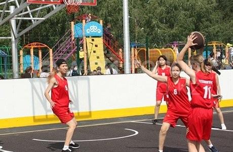 Парковая, 1 дом, спортплощадка - Степногорск